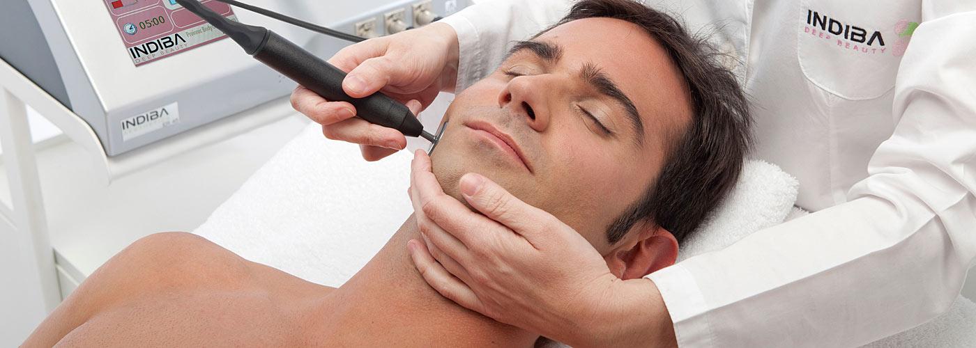 Tratamientos faciales para hombre