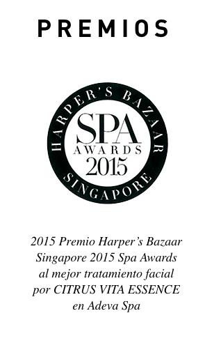 """Este tratamiento ha recibido el """"2015 Harper's Bazaar Singapore Spa Awards al mejor tratamiento facial"""""""